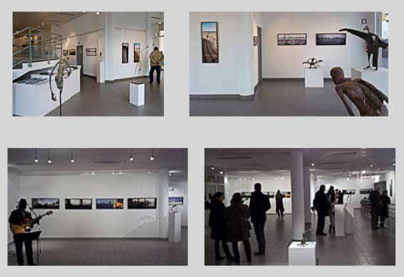 exhibition of claude_le_guillard's photographies of New York,at the Traverse galerie in Mers-les-Bains