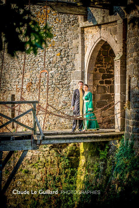 claude le guillard wedding photographer in Brittany montmuran castle